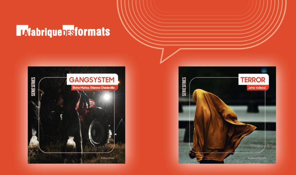 """Deux """"B.A. de Série Series"""" accompagnés par La Fabrique des formats © DR"""