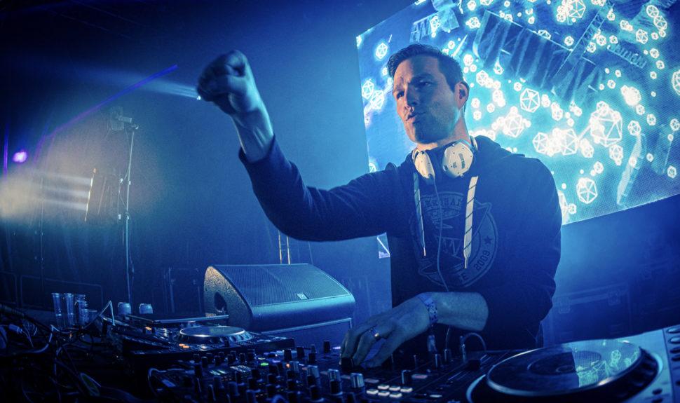 Le DJ Darude et l'ATEM Mini Pro, la belle affaire ! © DR
