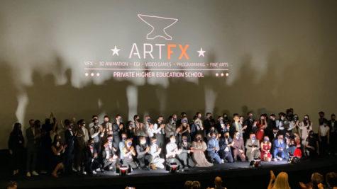 La Promotion 2020 d'ARTFX célèbre les 15 ans de l'école d'animation © Nathalie Klimberg