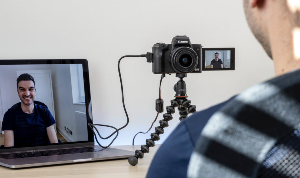 Canon EOS Webcam Utility : comment votre appareil photo Canon devient une webcam © DR