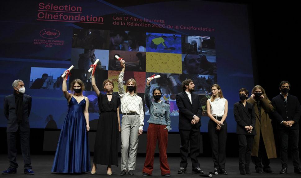 Le Jury et les lauréats de la Cinéfondation 2020 © Pascal Le Segretain/Getty Images © AFP