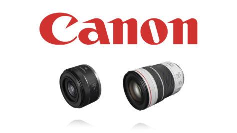 Canon accueille deux nouveaux objectifs dans sa gamme RF © DR