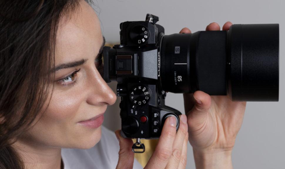 Nouvel objectif fixe à grande ouverture LUMIX S 85mm / F1.8 © DR