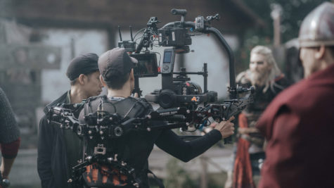 Le teaser d'Assassin's Creed Valhalla dans la place avec le workflow Blackmagic RAW © Sarah Janek / The Companion Photography