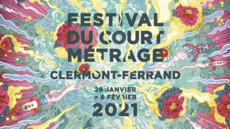 Le visuel de l'édition 2021 du festival du court métrage de Clermont-Ferrand a été réalisé par l'illustratrice japonaise Yuko Shimizu, présente en février dernier en tant que membre du jury international. © Yuko Shimizu