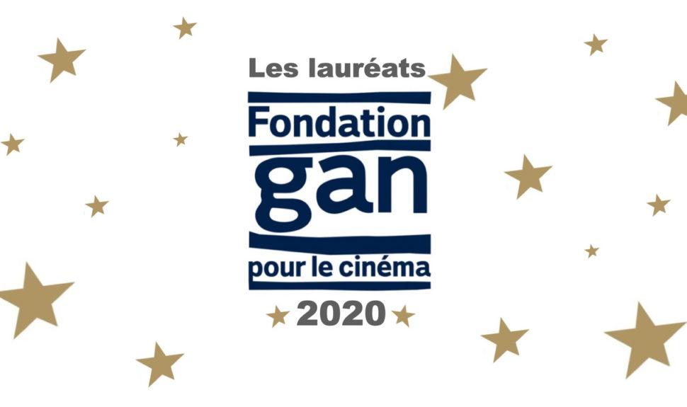 Les lauréats 2020 de la Fondation Gan pour le Cinéma © DR