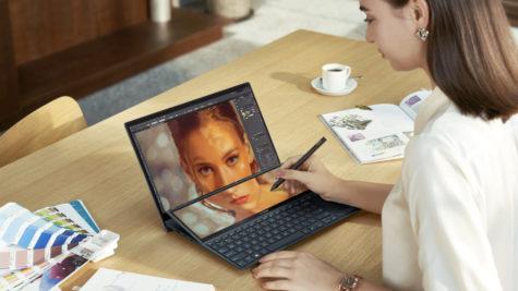 CES 2021 : Nouvelle gamme d'ordinateurs portables ZenBook chez Asus © DR