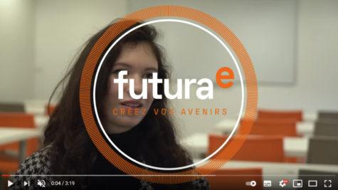 Anaïs, étudiante en première année Animation 3D, Dessins animés/Effets Spéciaux/JV présente sa formation © DR