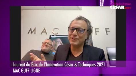 César & Techniques 2021 : les lauréats ! © DR