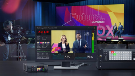 Blackmagic Design démocratise le streaming de qualité broadcast avec le Web Presenter HD © DR