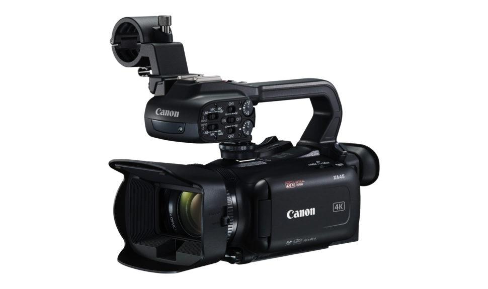 Canon présente son dernier caméscope XA45 compact 4K © DR