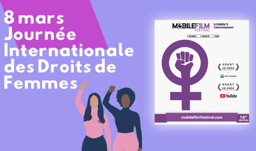 Le Mobile Film Festival soutient la Journée Internationale des Droits de Femmes © DR