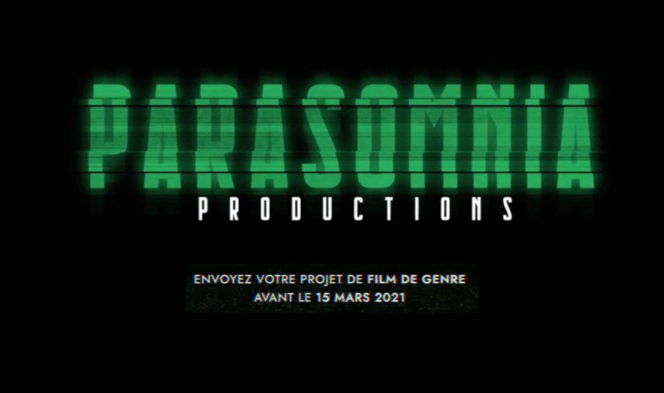 PARASOMNIA PRODUCTIONS lance un appel à projets de films de genre © DR
