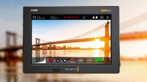 Contrôler et enregistrer des signaux caméra et webcam premiums avec le Blackmagic Video Assist © DR