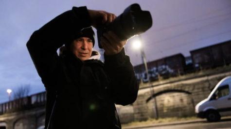 Lorenz Holder, Ambassadeur Canon travaillant avec un EOS R5 © DR