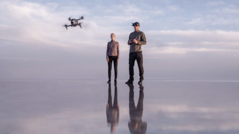 Le DJI FPV ou l'expérience de vol de drone intuitive © DR