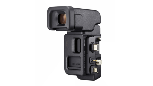 Le viseur électronique externe EVF-11 © DR