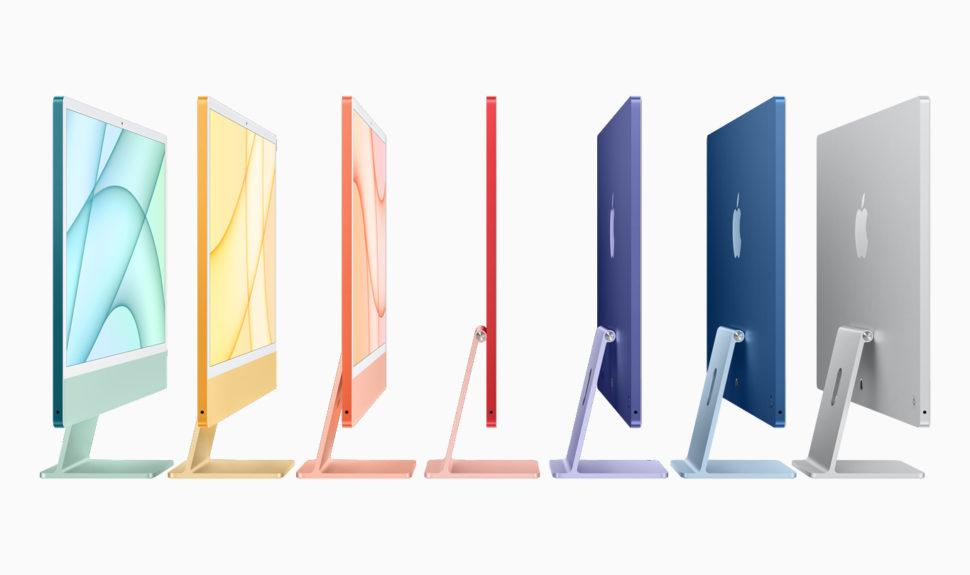 Un nouvel iMac transfiguré par la puce M1 mais pas uniquement… © DR