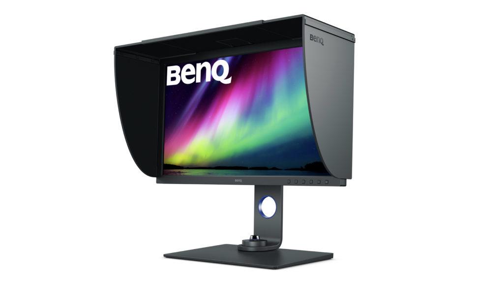 Le nouveau moniteur 4K chez BenQ, l'écran Photovue vous fera voir la vie en couleurs © DR