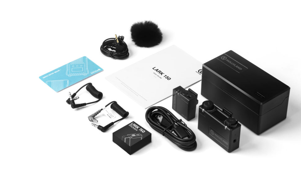 Hollyland annonce un kit solo pour son système de microphone sans fil Lark 150 pour les vloggers © DR