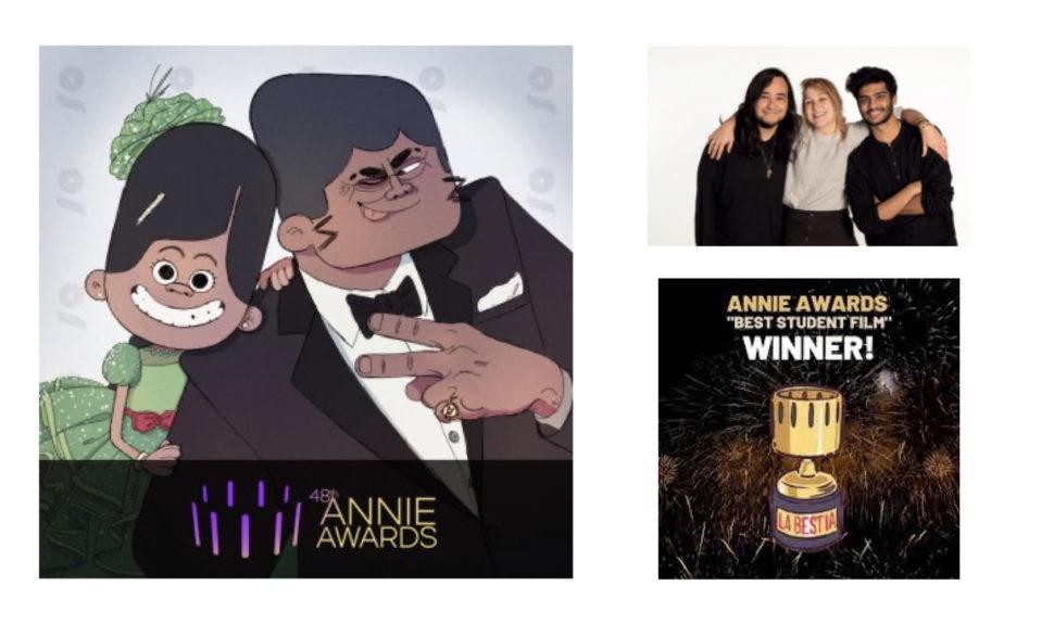 La Bestia distingué aux très prestigieux Annie Awards 2021 © DR
