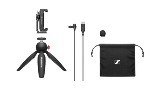 XS Lav USB-C Mobile Kit © DR