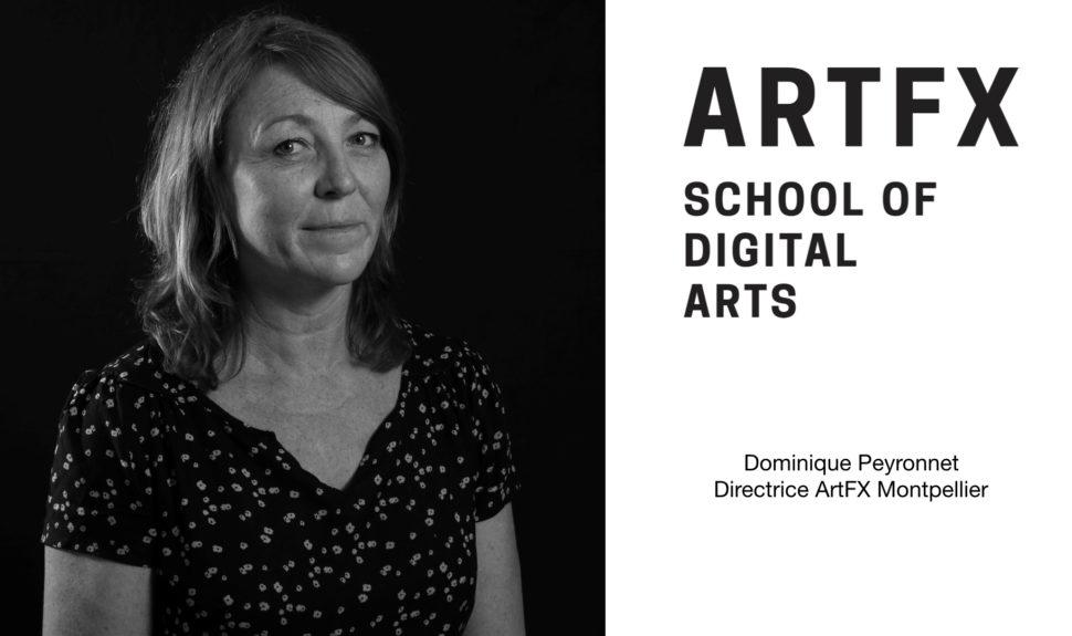 Dominique Peyronnet, nouvelle Directrice du campus historique de Montpellier de l'école ARTFX © DR ARTFX