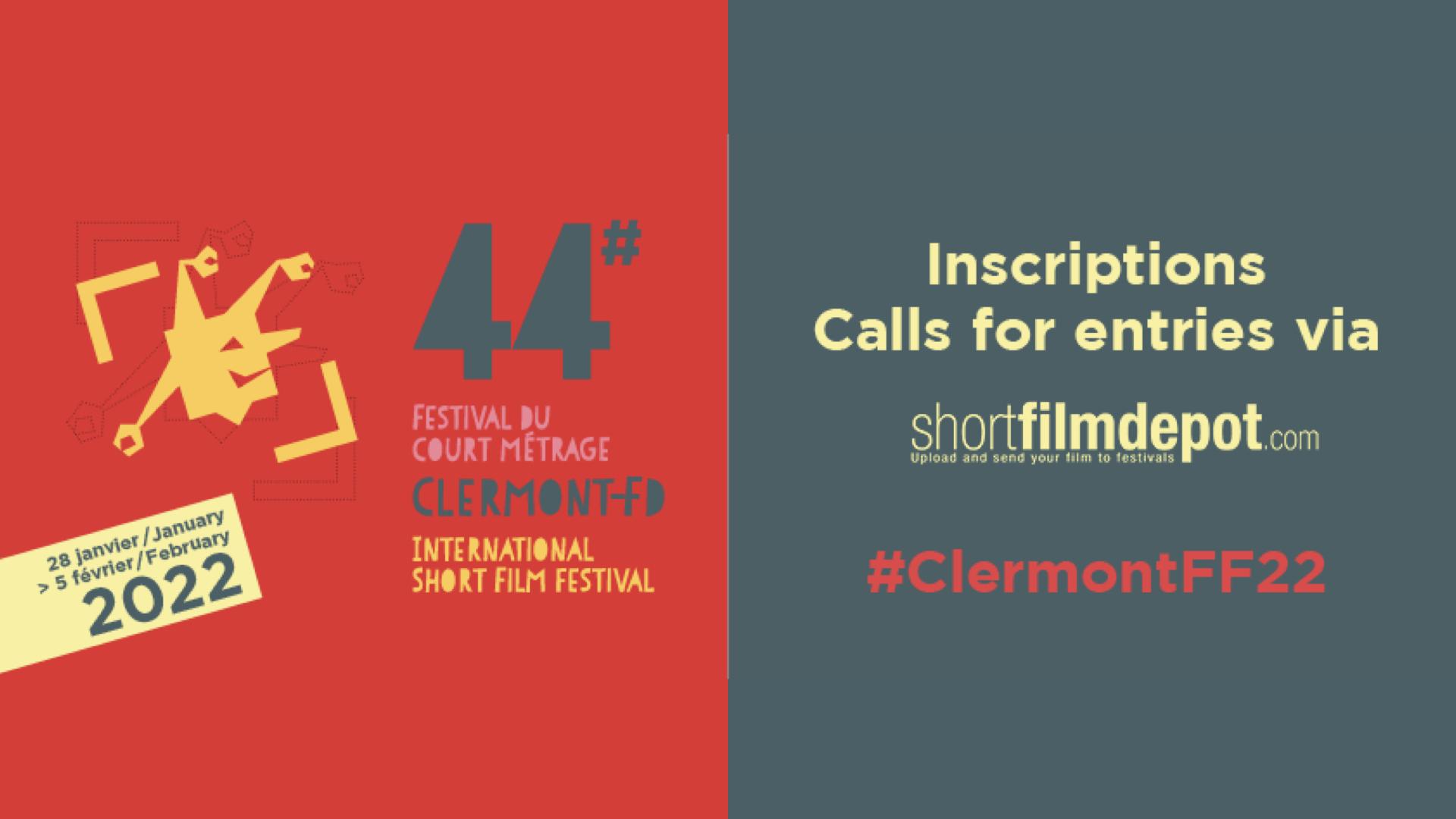 Inscrivez dès à présent vos films au Festival International du Court Métrage de Clermont-Ferrand 2022