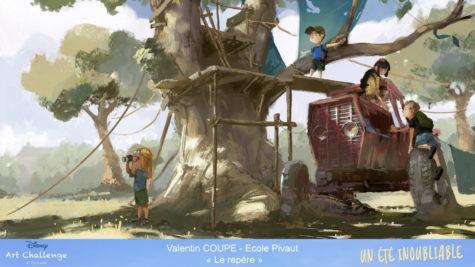 « Eté Amazonien » de Gaspard Héry, de GOBELINS l'école de l'image (Paris) © DR