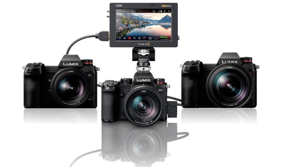 Panasonic annonce des nouvelles mises à jour logicielles pour les Lumix S1, S5 et S1R © DR