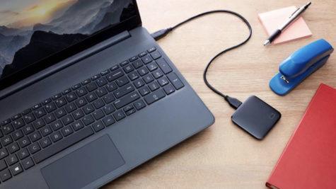 Western Digital dévoile le nouveau disque portable SSD de poche : le SSD WD Elements SE © DR