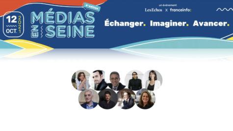 Médias en Seine : découvrez les premiers speakers © DR