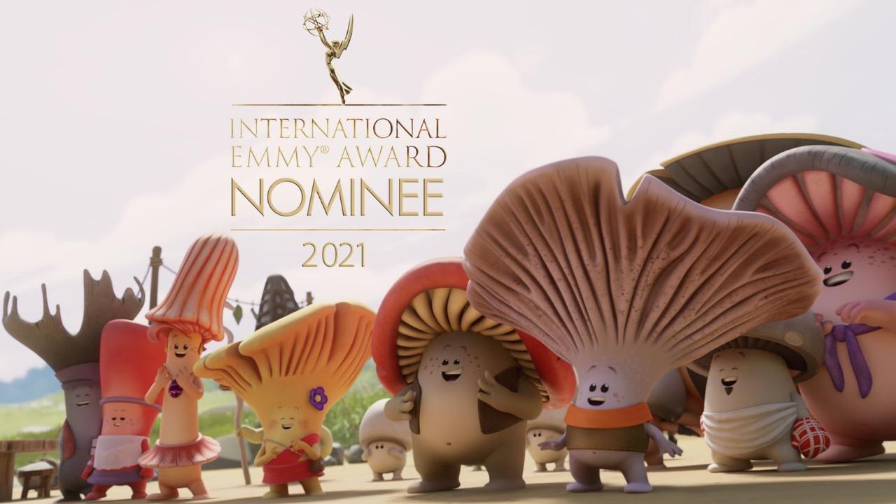 Mush-Mush nommé aux Emmy Kids Awards 2021 © DR