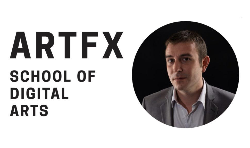 Simon Vanesse, nommé nouveau Directeur Général d'ArtFX © DR